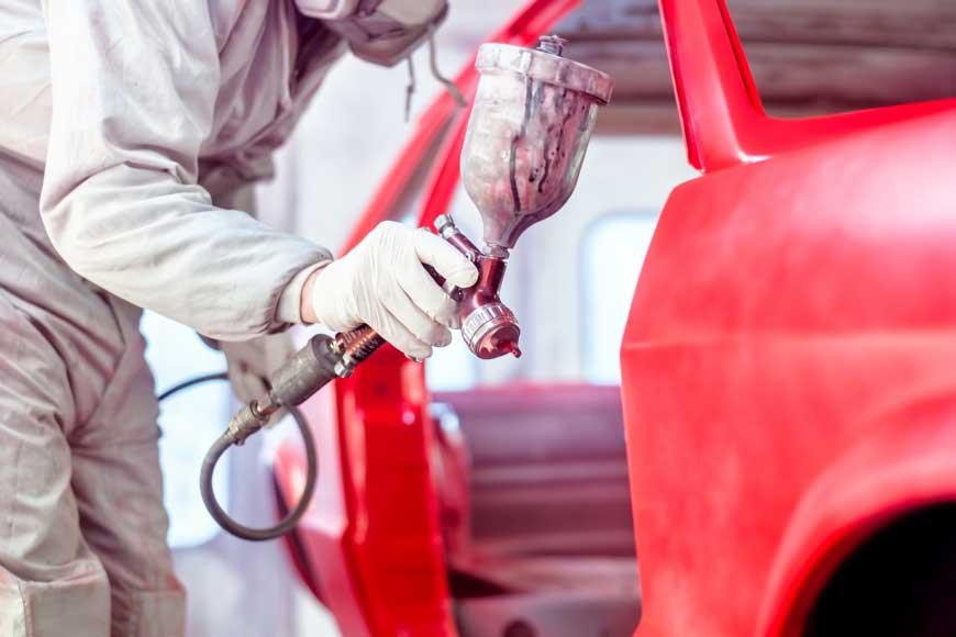 Покраска авто в автосервисе для Москвы в Коломне